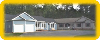 Modular homes sales center