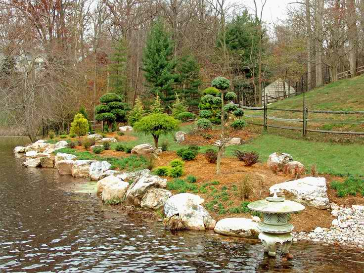 Landscaping ideas for modular homes in michigan for Lakeside designs