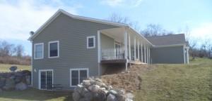 Modular Home on an Insulated Precast Foundation