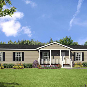 Multi section single story modular home for Modular homes with basement