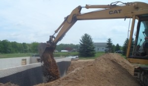 Excavation and Grading of Lot for Modular Homes