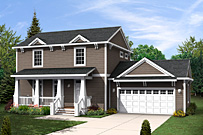 General Contractor, Two Story Modular Home in Allen, Michigan