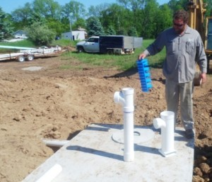 Septic System in a Modular Home