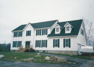 Two Story Modular Home Floor Plan in Michigan