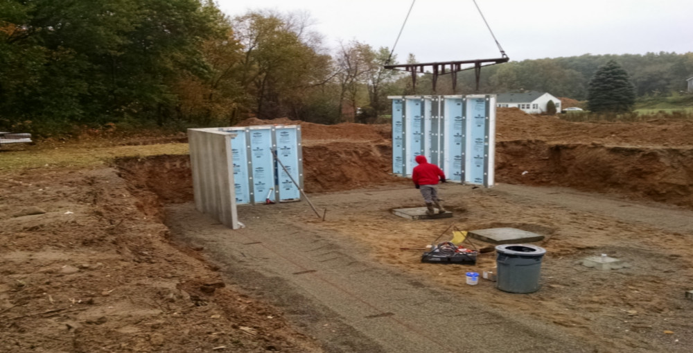 Superior Walls Insulated Precast Foundation